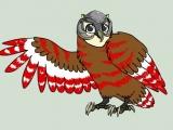 Укрась сову