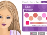 Барби звёздный макияж