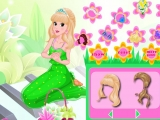 Flash игра для девочек Romantic Flower Princess