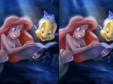 Flash игра для девочек The Little Mermaid Puzzles