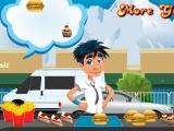 Flash игра для девочек McDrive Serving
