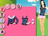 Flash игра для девочек Fashion Picnic Girl