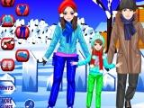 Flash игра для девочек Ice Skating Family