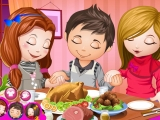 Cute Children Thanksgiving Day