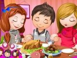 Flash игра для девочек Cute Children Thanksgiving Day