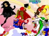 Flash игра для девочек Super Girl Dress Up