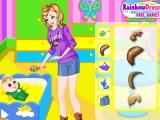 Flash игра для девочек Babysitter