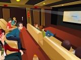 Flash игра для девочек Movie Theater Kissing