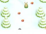 Животные на санках