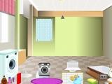 Обстановка комнаты для стирки