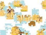 Пазлы: Влюбленные жирафы