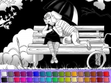 First Kiss Coloring