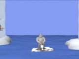 Игра Yetisports 3 - Метание пингвина