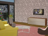 Игра 3D Christmas Living Room