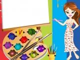 Flash игра для девочек Bratz Painter Dressup