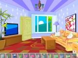 Flash игра для девочек Living Room Remodel