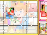 Flash игра для девочек Amy's Happy Life Puzzle