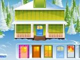Flash игра для девочек Christmas Exterior Decoration