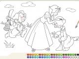 Раскраска «Белоснежка»