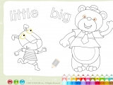 Раскраски: Little Big Bear