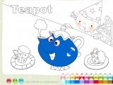 Раскраски: Teapot