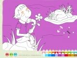 Flash игра для девочек Раскраски: Romantic - Романтика