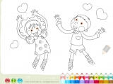 Раскраски: Love - Любовь