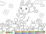 Bunny Coloring