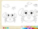 Раскраски: Crab