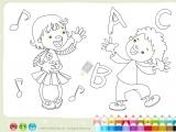 Flash игра для девочек Раскраски: Abetka - Алфавит