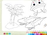 Раскраски: Crocodile