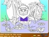 Раскраски: Lion Good