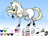 Horse Coloring Set: The Picture