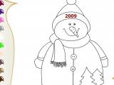 Раскраски: Snowman 2009
