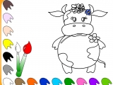 Раскраски: My Little Cow