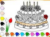 Раскраски: Торт