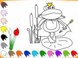 Раскраски: The Frog Memo