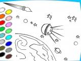 Раскраска: Космос