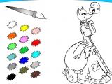 Раскраски: Лиса и Колобок