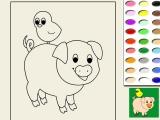Раскраски: Coloring Pig