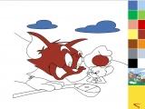 Раскраски: Tom&Jerry