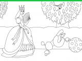 Раскраски: Принцесса и пудель