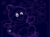 Раскраски: Snowman Zero Lux