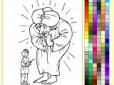 Paint Online Fairy Tale - Alladin
