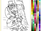 Раскраски: Paint Online - Буратино