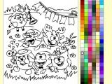 Раскраски: Смешарики - День Развлечений