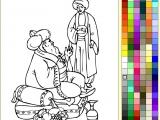 Раскраски: Али-Баба