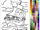 Раскраски: Яркий парус