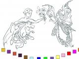 Игра Раскраски: Нимфадора и Принц