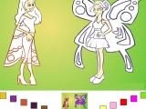 Раскраски: Красотки Феи